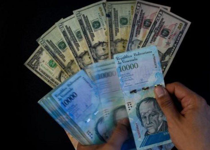 El precio del cambio bolívares por dólar sigue aumentado: Bs. 1.101.197,28  – Diario 2001