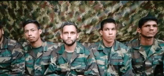 militares venezolanos secuestrados